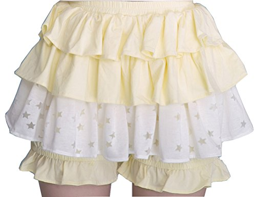 [Nuoqi Womens Lovely Star Preppy Chic Cake Skirt Flouncing Dress] (Preppy School Girl Costumes)