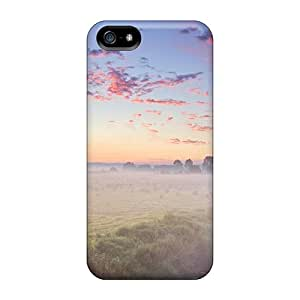 Fashionable Style Case Cover Skin For Iphone 5/5s- Misty Field