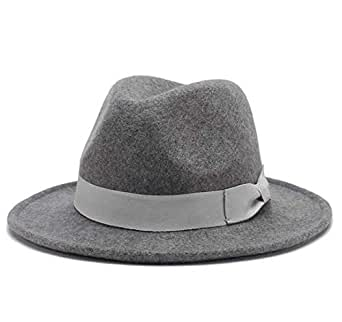 Grey Bowler & Derby Hat For Unisex