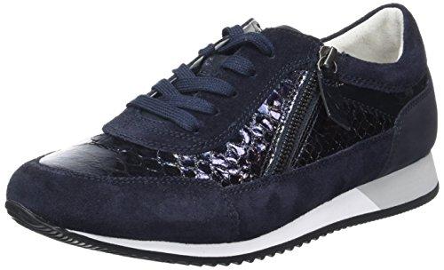 Gabor Dame Komfort Sneakers, Grå Blau (ocean 46)