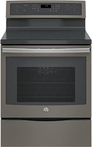 PHB920EJES 30 Free-Standing Convection range With Induction 5.3 Cu. Ft. Capacity 5 Elements True European Convection with Precise Air WiFi Connection in Slate