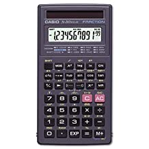 Casio Products - Casio - FX-260 Solar Scientific Calculator, 10-Digit x Two-Line Display, LCD - Sold As 1 Each - All purpose scientific calculator offers fraction calculation, trigonometric functions and is solar powered. by Casio Products