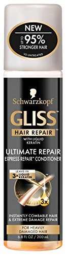 Gliss Conditioner Ultimate Express Repair 6.8 Ounce Spray (200ml)