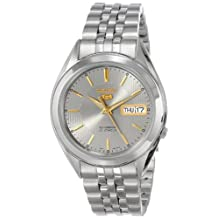Seiko Men's SNKL19 Automatic-Self-Wind Grey Dial Watch