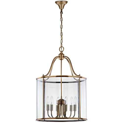 Sconce Pacific Traditional (Safavieh Lighting Collection Sutton Brass 98.5-inch Pendant Light)