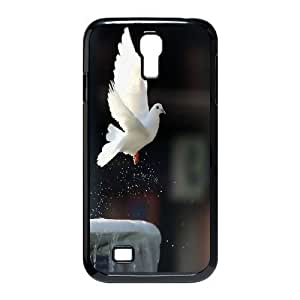 JamesBagg Phone case White dove pattern For SamSung Galaxy S4 Case FHYY404760