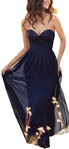 Donna Blue Ad Vestito 2 Navy A Linea Fanciest qwU8pxSgp