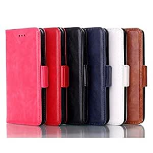 LZX Smart Luxury Flip Leather Card Stand Cover for iPhone 6 (Assorted Color)