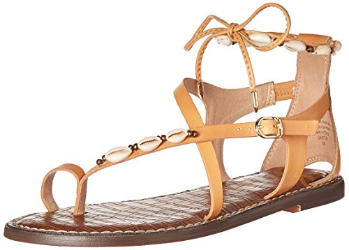 (Sam Edelman Women's Garten Sandal Natural Leather 7 M US)