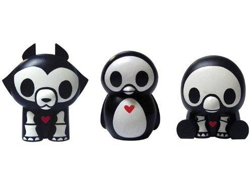 Skelanimals PVC Box Set Series 3: Pen, Jae, and Pudge