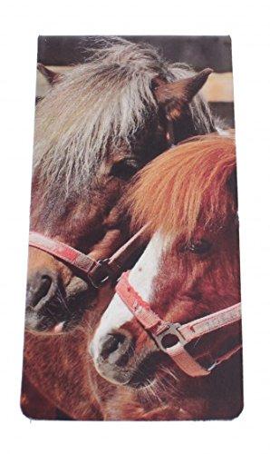 magnetische Lesezeichen Pferd 9 x 4, 5 cm Dresz