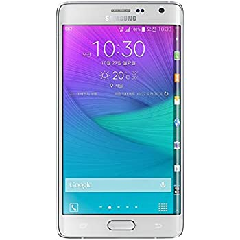 "Samsung Galaxy Note4 Edge SM-N915G N915 32GB 5.6"" QHD / Factory Unlocked White - International Version No Warranty"