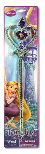 Tangled Princess Wand with Marabou on Header Card