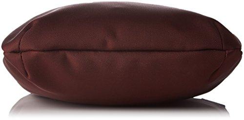 LE TANNEUR Swana Uni - borsa a tracolla Donna, Violet (Tricolore), 4x27x25 cm (W x H L)