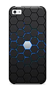 New Design Shatterproof EDEegnS6331IaWNr Case For Iphone 5c (logo)