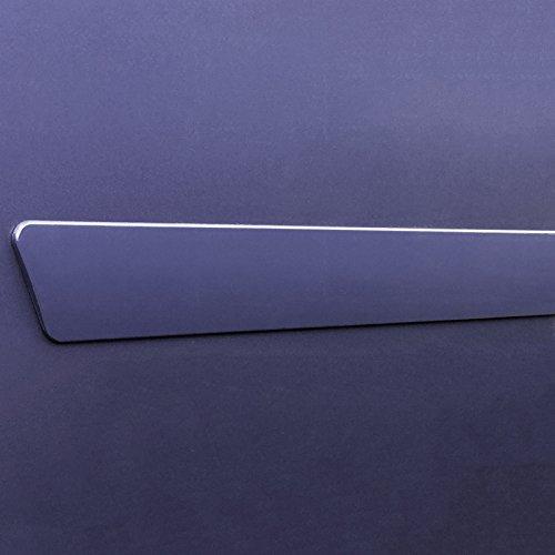 Dawn Enterprises FE2-RAV4-13 Finished End Body Side Molding Compatible with Toyota RAV4 209 BLACK SAND METALLIC