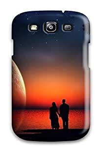 GtHWvBN25711fkqAq Case Cover Protector For Galaxy S3 Romantic Couple In Moon Night Love Case