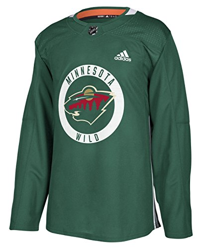 adidas Minnesota Wild NHL Men's Climalite Authentic Practice Jersey