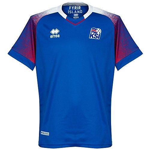 Errea 2018/2019 - Playera de Islandia, Azul Royal, X-Large