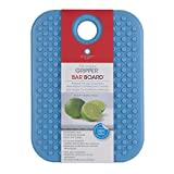 "Architec GBBTQ7 Original Non-Slip Gripper Cutting Board, 5"" x 7"", Turquoise"