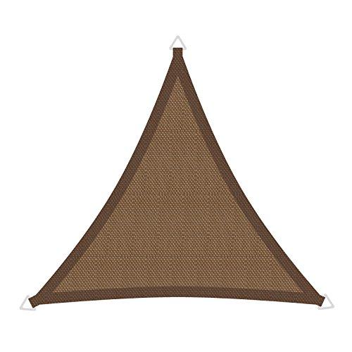 Windhager 10888 SunSail Riviera, triangolo, 3,6 m, khaki