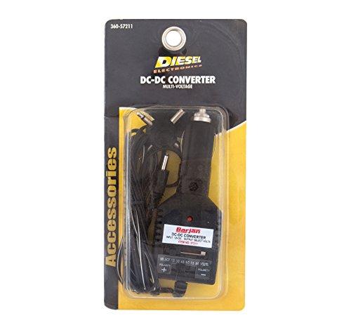 - Diesel Electronics 12V Cigarette Lighter Adapter (Multi-Voltage DC Converter)
