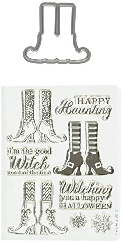 Hero Arts DC161 Witch Feet Stamp & Cut Die by Hero Arts