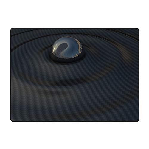 (Rubber Welcome Doormat Runner Inserts Indoor Outdoors Natural Easy Clean Floor Surface Black Bowl Ribbed Rug Door Mats for Entry Way Patio, Front Door, All Weather Exterior)