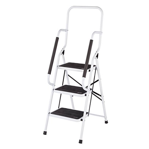 Step ladder with handles
