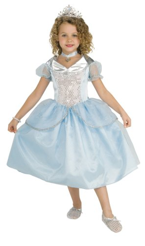 Rubie's Child's 5 Precious Pieces Crystal Princess Costume, Small (Halloween Costumes International Shipping)