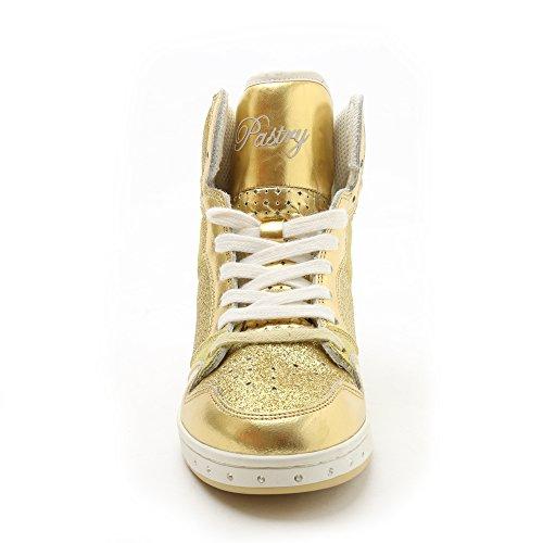 High-top Sneaker E Danza Scarpa Pasticceria Glam Torta Di Scintillio Per Le Donne Loro