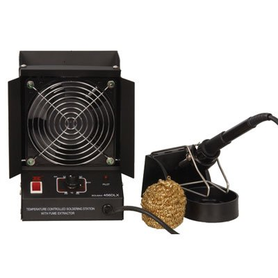 Xytronic 456DLX Soldering Station and Fume Extractor, 42W, 6.38