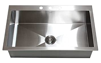 36 u0026quot  x 22 u0026quot  single bowl kitchen sink 36   x 22   single bowl kitchen sink     amazon com  rh   amazon com