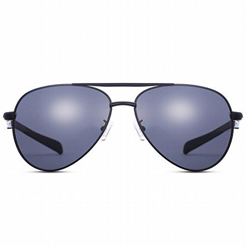 Acompatible de remplacement de lentilles pour lunettes de soleil Oakley de carter Oo9165, Black - Polarized