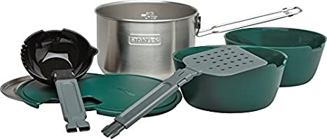 Stanely Stanley Adventure Prep Cook Set Stainless Steel Pacific Market International 10-01715-001