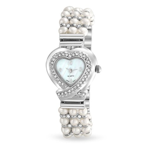 bling-jewelry-womens-crystal-3-row-cultured-pearl-heart-steel-back-watch
