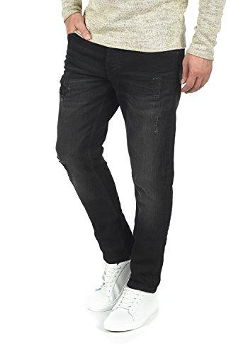 !solid Moy Jeans Denim Pantaloni Da Uomo Elasticizzato Slim- Fit Black (9000)