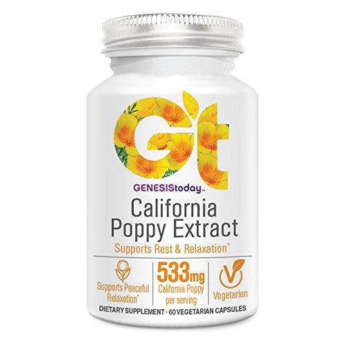 Genesis Today, California Poppy Extract, 60 Count -
