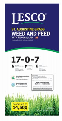 50 lb. St. Augustine Grass Weed and Feed with Penoxsulam