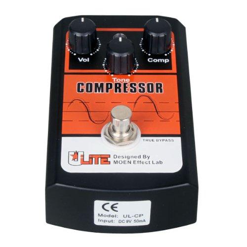 MOEN UL-CP Ulite Series Compressor Guitar Effects Pedal True Bypass by Moen Music