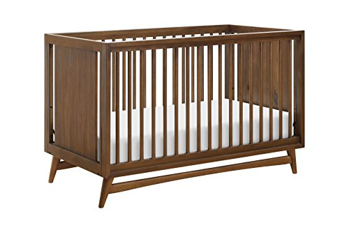 (Babyletto Peggy 3 in 1 Convertible Crib with Toddler Bed Conversion Kit, Natural Walnut)