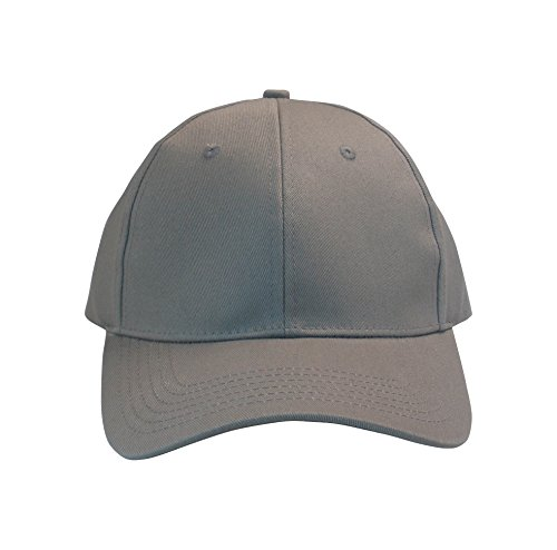 Always Eleven Cotton Baseball Hat with Satin Lining (Grey)