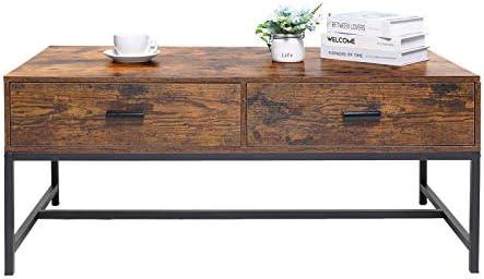 USIKEY Modern Boho Coffee Table