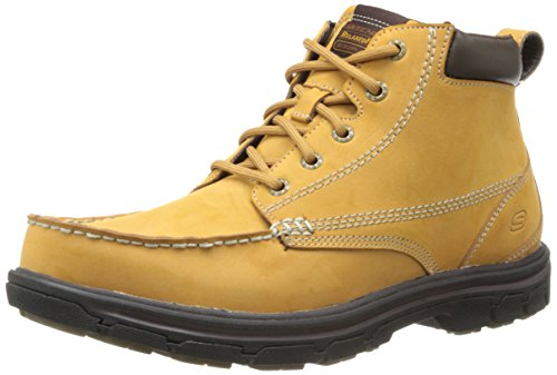 Skechers Usa segmento-Barillo Boot Beige - Wheat Leather