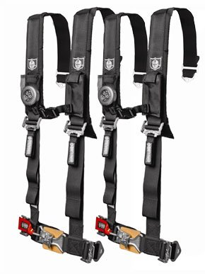 Pro Armor 2'' 4 Point 2 Seat Harness Kit, UTV RZR Can Am Arctic Cat by Pro Armor