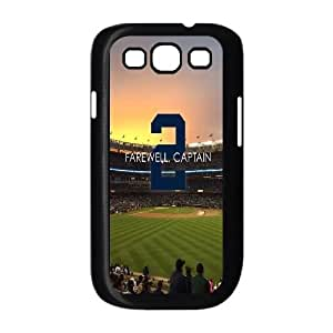 Fggcc Derek Jeter Pattern Hard Case for Samsung Galaxy S3 I9300,Derek Jeter S3 Case (pattern 4)