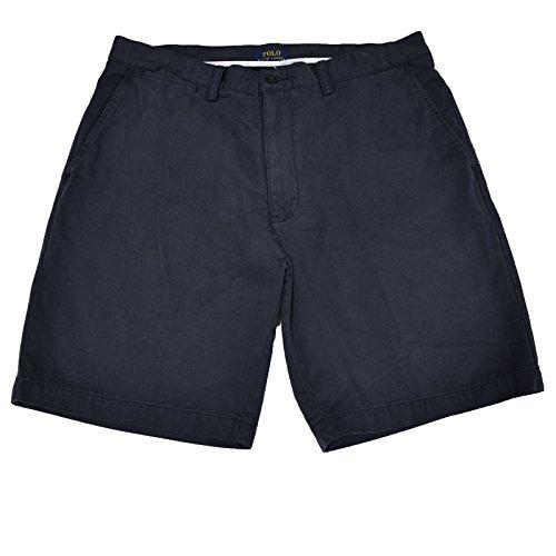 Shorts Polo Chino (Polo Ralph Lauren Flat Front Chino Prospect Short (Navy Blue, 29))