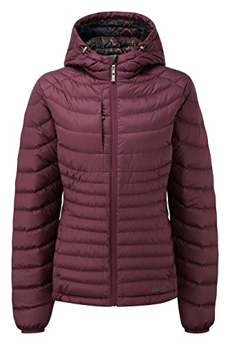 Hooded Nangpala Coat Anaar Women's Sherpa nPqBZ4gw