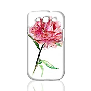Peony Flower 3D Rough Case Skin, fashion design image custom, durable hard 3D , Case New Design For Case Iphone 6Plus 5.5inch Cover , By Codystore