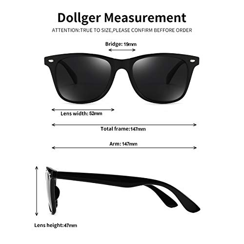 Polarized Sunglasses For Men Women Retro TR90 Frame Square Shades Vintage BRAND DESIGNER Classic Sun Glasses